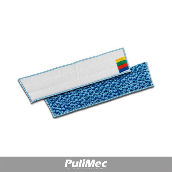 PULI-SCRUB PANNO IN MICROFIBRA CM.40 CON SUPPORTO PER SISTEMA A VELCRO
