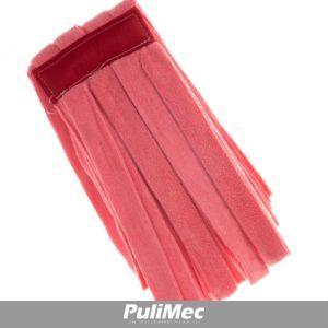 STRIPE MOP - mop in strisce di tessuto mibrofibra colorata colore ROSSO GR. 250