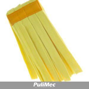 STRIPE MOP - mop in strisce di tessuto mibrofibra colorata colore GIALLO GR. 250