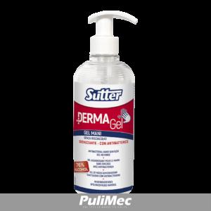 DERMAGEL 500 ML Gel mani Igienizzante Senza Risciacquo Igienizzante Con Antibatterico 76% di Alcool