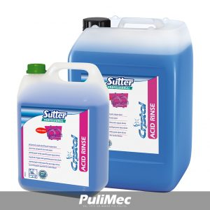 SUTTER ACID RINSE BRILLANTANTE ACIDO PER ACQUE DURE